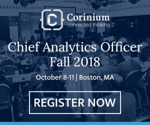 Chief Analytics Officer, Fall 2018